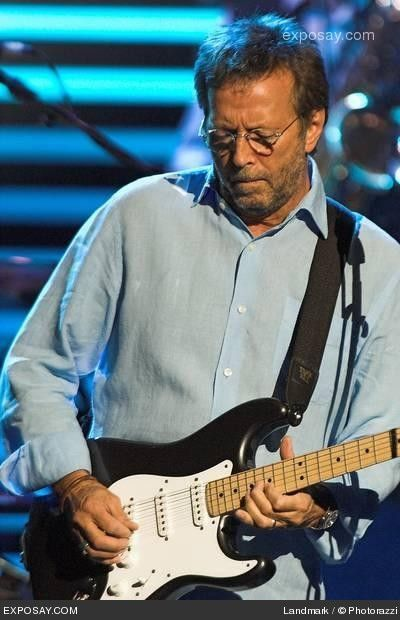 Eric Clapton - Eric Clapton in concert at the Royal Albert Hall in London - May 17, 2006