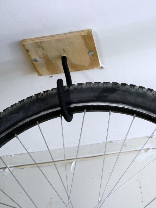 Hang your bike from ceiling