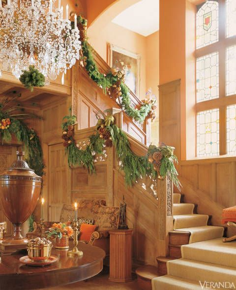 206 best holiday decor in veranda images on pinterest for Decoration veranda