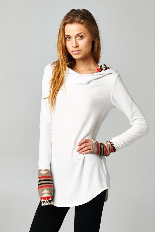 French terry hoodie CA$39.99