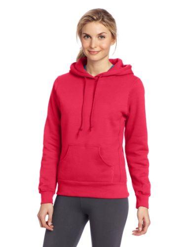 Russell Athletic Women's Fleece Pullover Hood - List price: $43.75 Price: $19.99 Saving: $23.76 (54%)