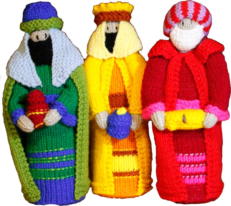 Three Wise Men Nativity Mini Set - 3 pieces