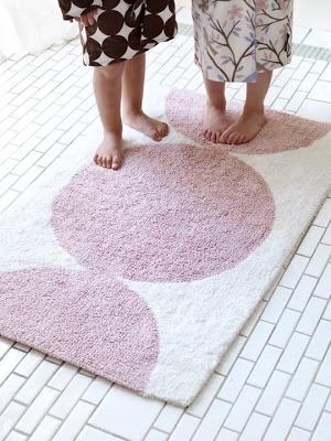 dwell studio polka dot rug