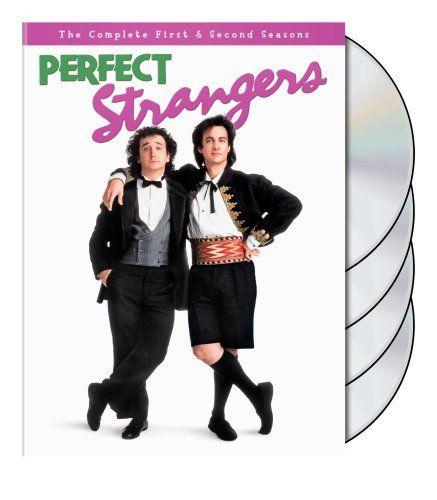 Perfect Strangers created by Dale McRaven.  With Bronson Pinchot, Mark Linn-Baker, Melanie Wilson, Rebeca Arthur. A high strung and cynical man's life is never the same when his naive but good-natured cousin comes to America to live with him.