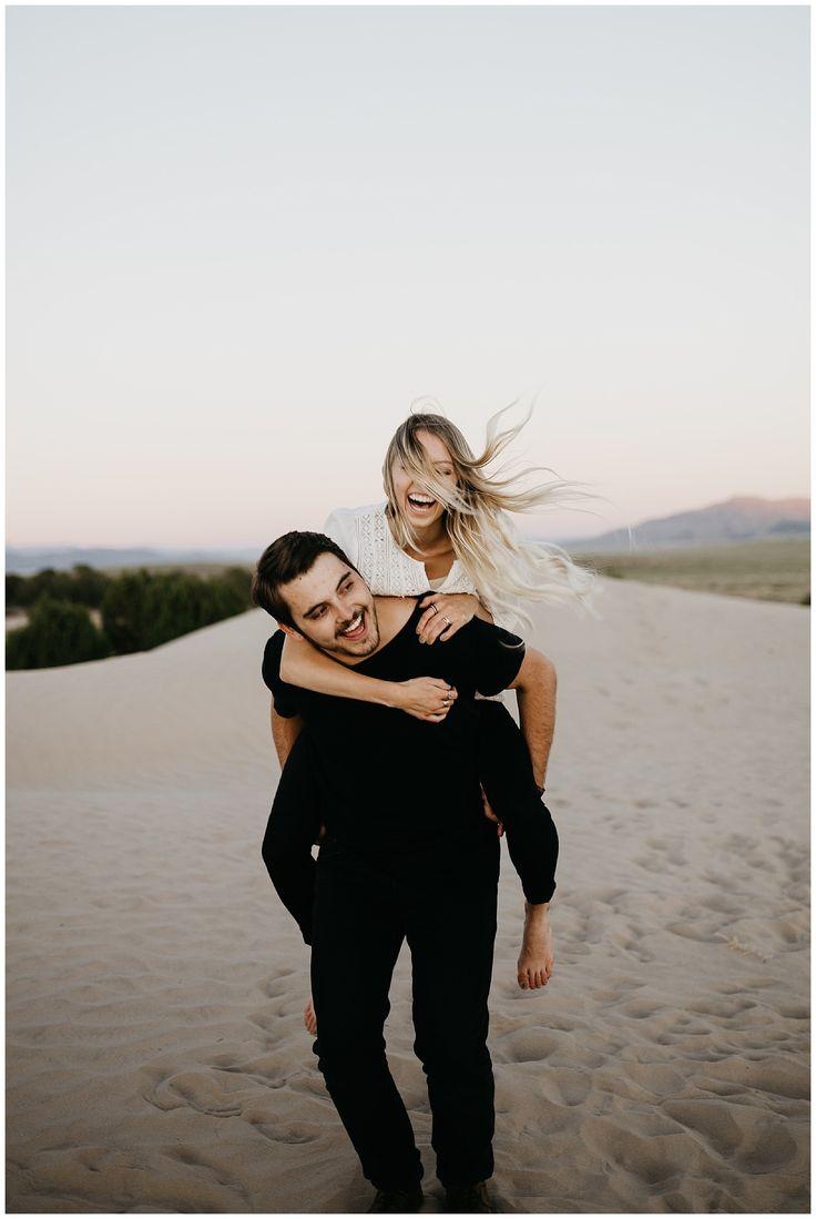 Elise and Kade, Desert Sand Dune Engagements