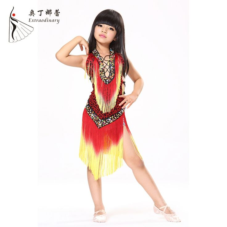 Cheap dance costumes for kids, Buy Quality dress dance costumes directly from China children latin dance dress Suppliers: Children Latin Dance Dress Kids Samba Danse Latine Salsa Dresses Dance Costumes For Kids Clothes Ballroom Dancing L00580