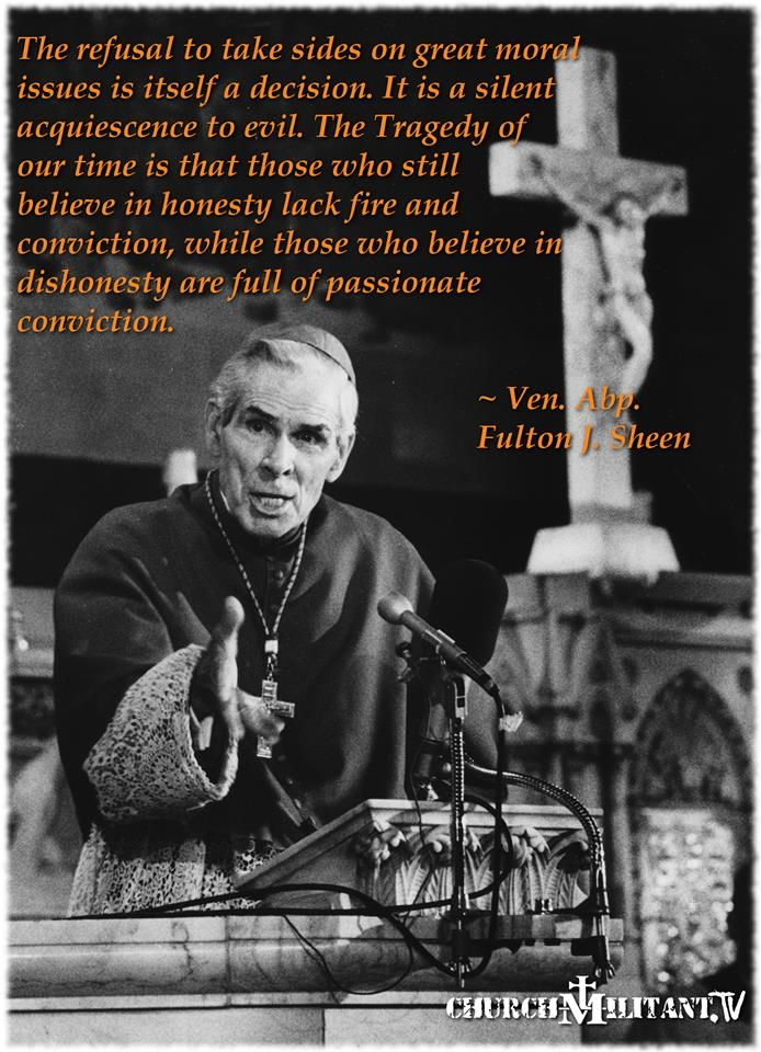 Bishop Sheen Quotes: 167 Best Images About Archbishop Fulton Sheen On Pinterest
