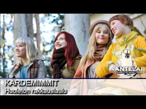 """The beautiful sound of the Finnish instrument 'kantele', a national symbol for the country. Folk song by the girly group of Kardemimmit """"Huoleton rakkauslaulu"""""""