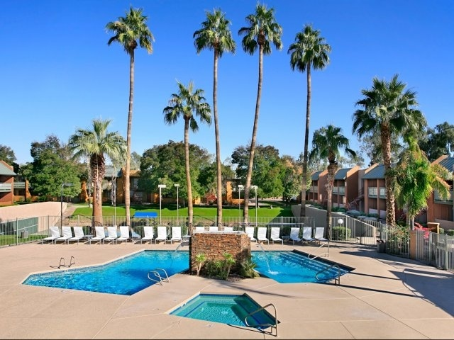 Lovely Pool @   Haven Luxury Apt. Homes   Tempe Arizona. 660 Units Gallery