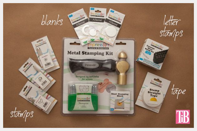 Metal Stamped Believe Bracelet DIY Supplies