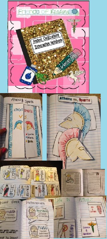 Interactive Notebook- Ancient Civilizations- Unit 4- Ancient Greece Having trouble creating fun and engaging social studies lessons? After teaching ancient civilizations to sixth graders for many years I am compiling a few of my interactive notebook tools.