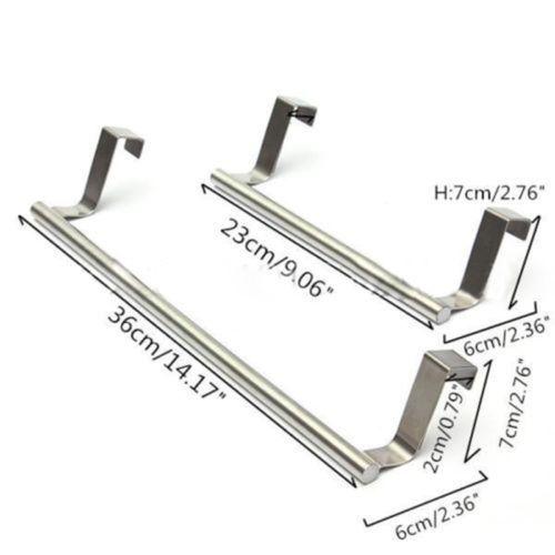 Trendy-Stainless-Steel-Over-Holder-Door-Kitchen-Tea-Towel-Rail-Drawer-Holder-Hot