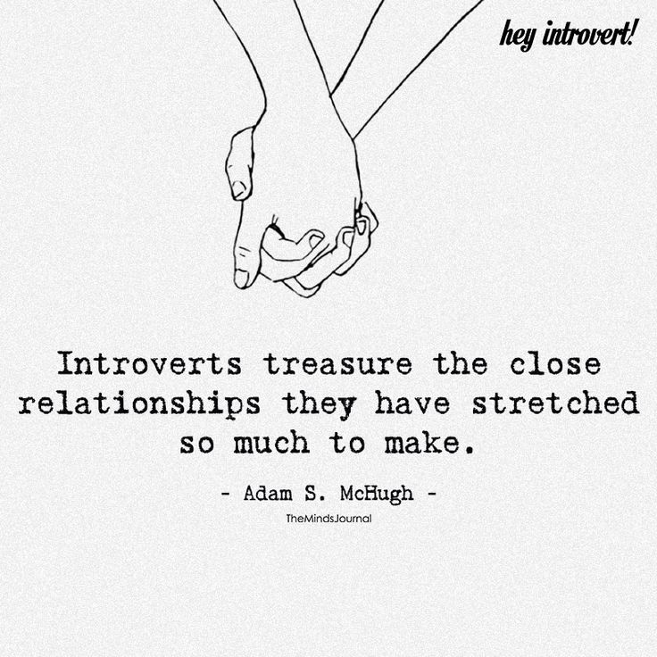 Introverts Treasure The Close Relationships - https://themindsjournal.com/introverts-treasure-close-relationships/