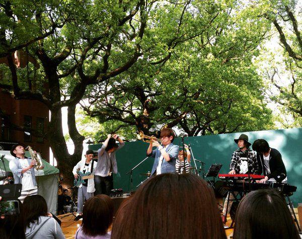 福岡から五時間半(° °)けっこうかかった、、 めっちゃ楽しかった♡  JABBERLOOP & ADAM at & Schroeder-Headz!  #みやざき国際ストリート音楽祭