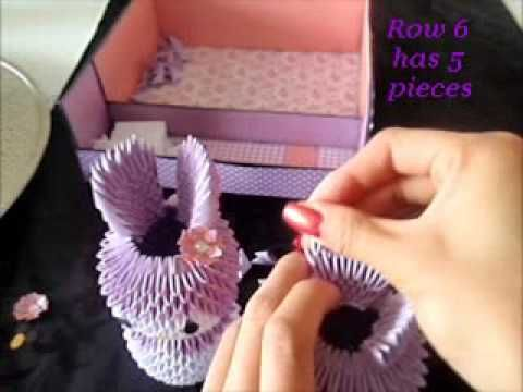 3d origami melody tutorial part 2 - Published on Dec 14, 2012 watch part 1 http://www.youtube.com/watch?v=or-fPL...  sorry quality is not very good