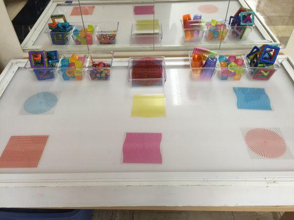 Light Table. The Curious Kindergarten.