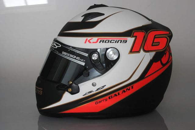 Racing Helmets Garage: Arai GP-6 G.Galant 2012 by BS Designs