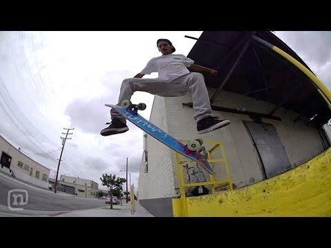 Skater Carlos Lastra Stacks Clips On NKA