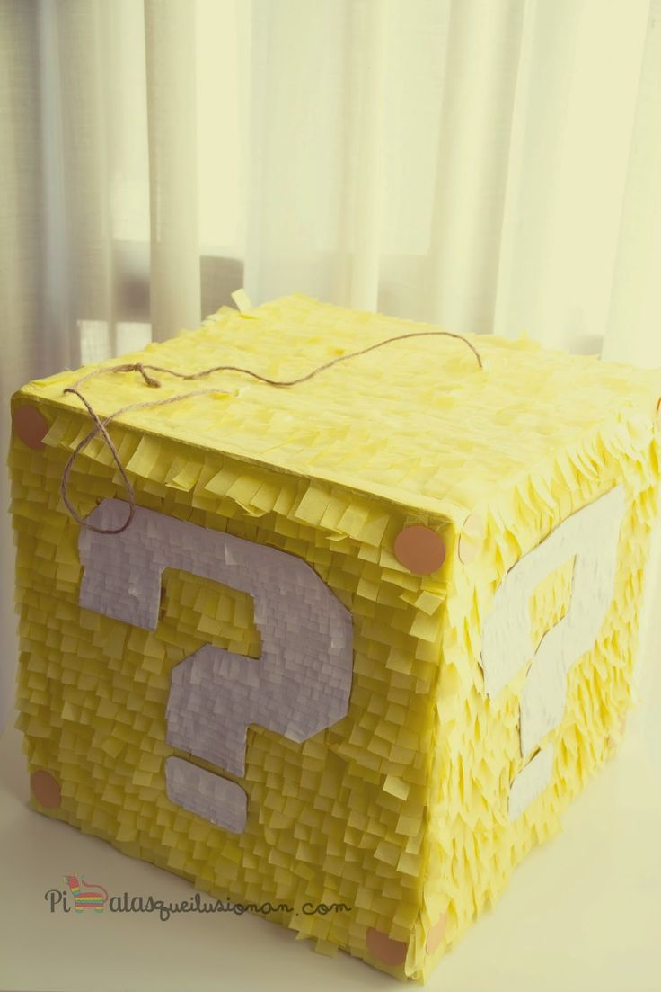 Piñata Super Mario Bross