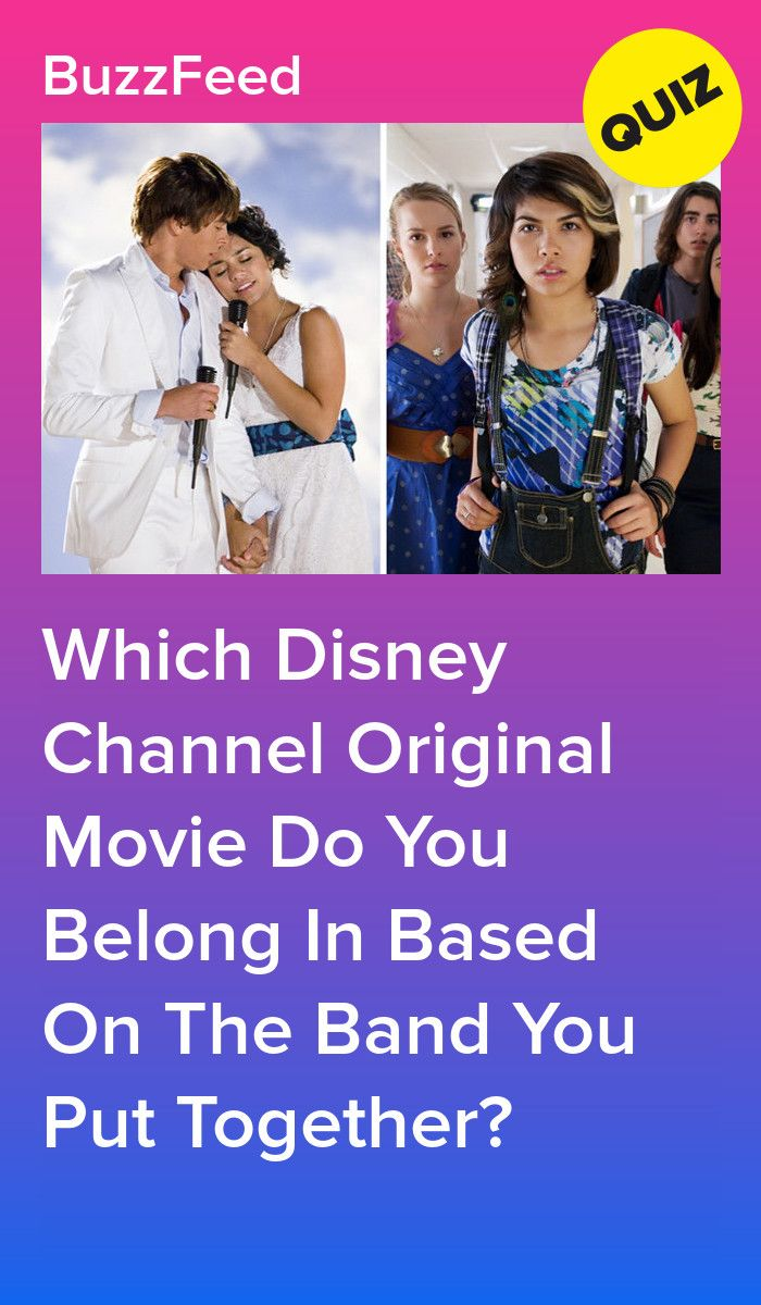 Start A Band And We Ll Tell You Which Musical Dcom You Belong In Disney Channel Disney Channel Quizzes Movie Quizzes