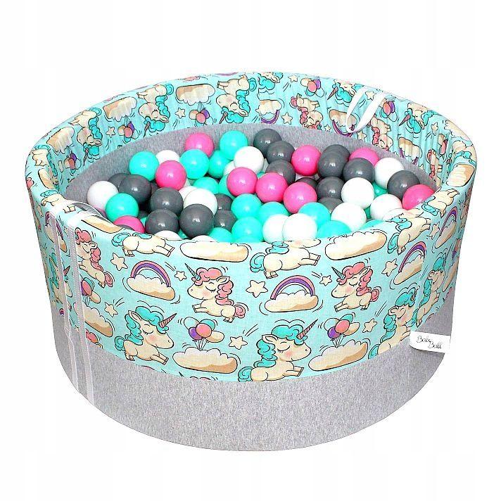 Suchy Basen Z Pilkami Kulkami Pileczkami 250 Szt Baby Ball Ball Pit Toddler Girl Gifts