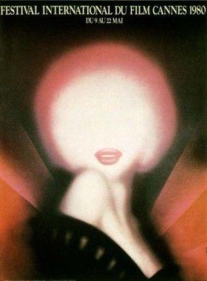 La 33ème édition du Festival de Cannes, en 1980 Auteur de l'affiche : Michel…