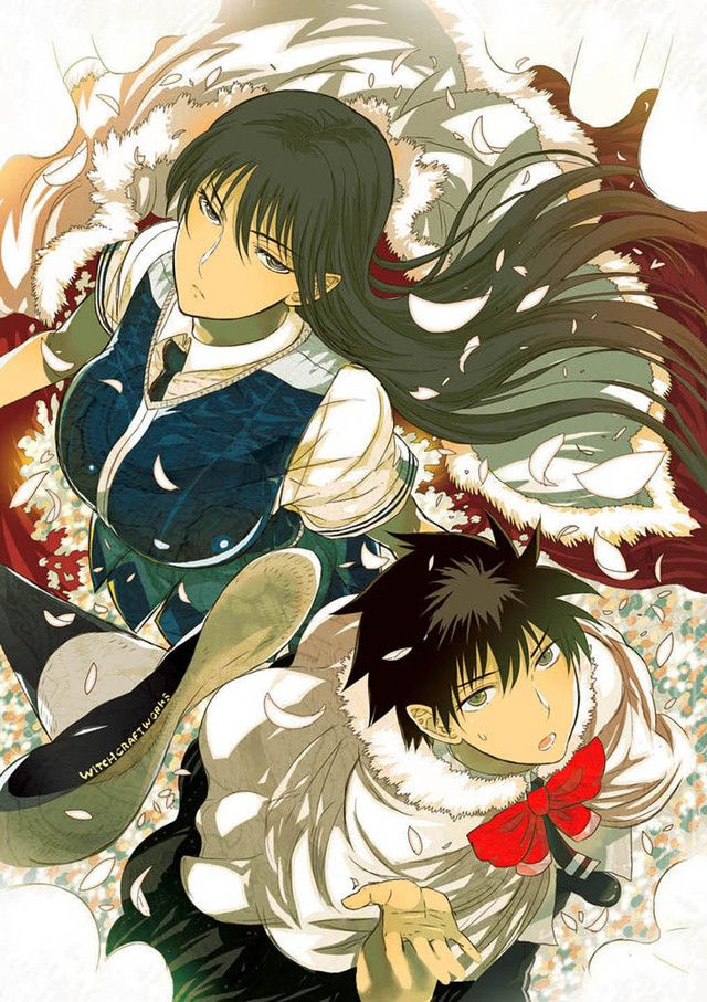 "main characters from ""Witch Craft Works"""