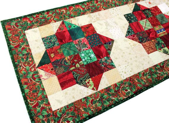 1000 id es sur le th me chemins de table en patchwork sur pinterest chemins de table dessus - Chemin de table en patchwork ...