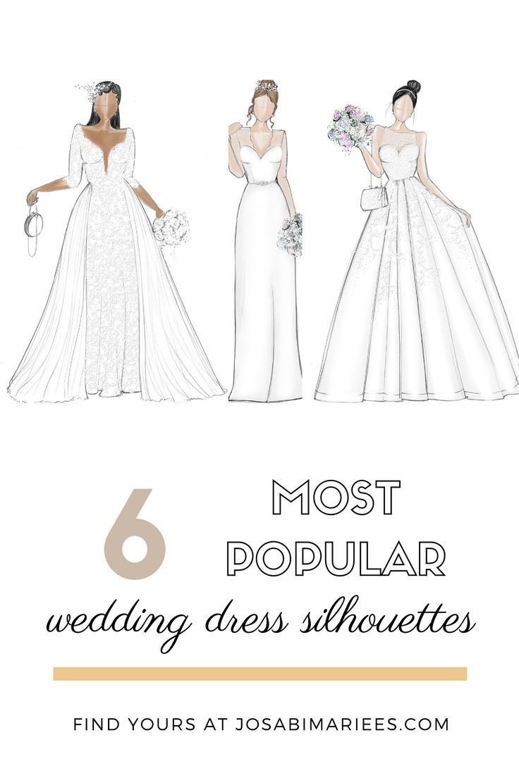Wedding Dress Shapes The Nitty Gritty In 2020 Wedding Dresses Wedding Dress Shapes Wedding Dress Silhouette
