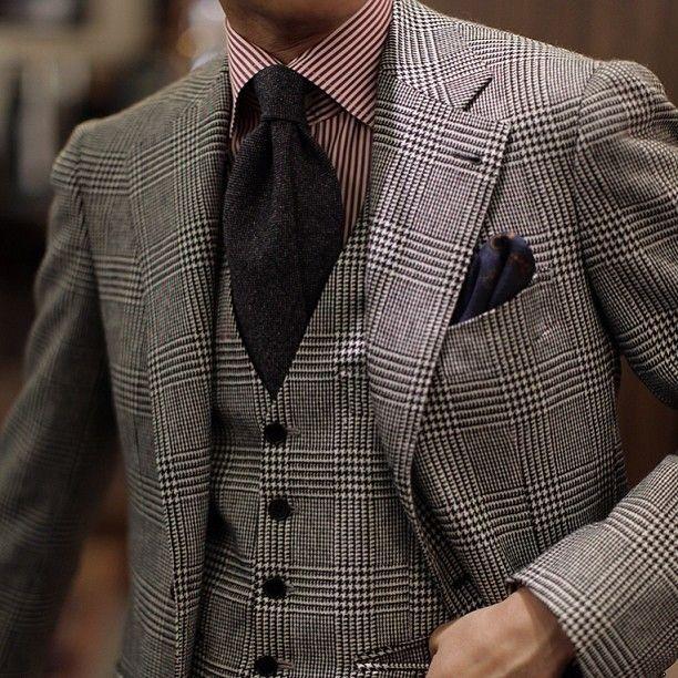 Men S Grey Plaid Wool Blazer Grey Plaid Wool Waistcoat