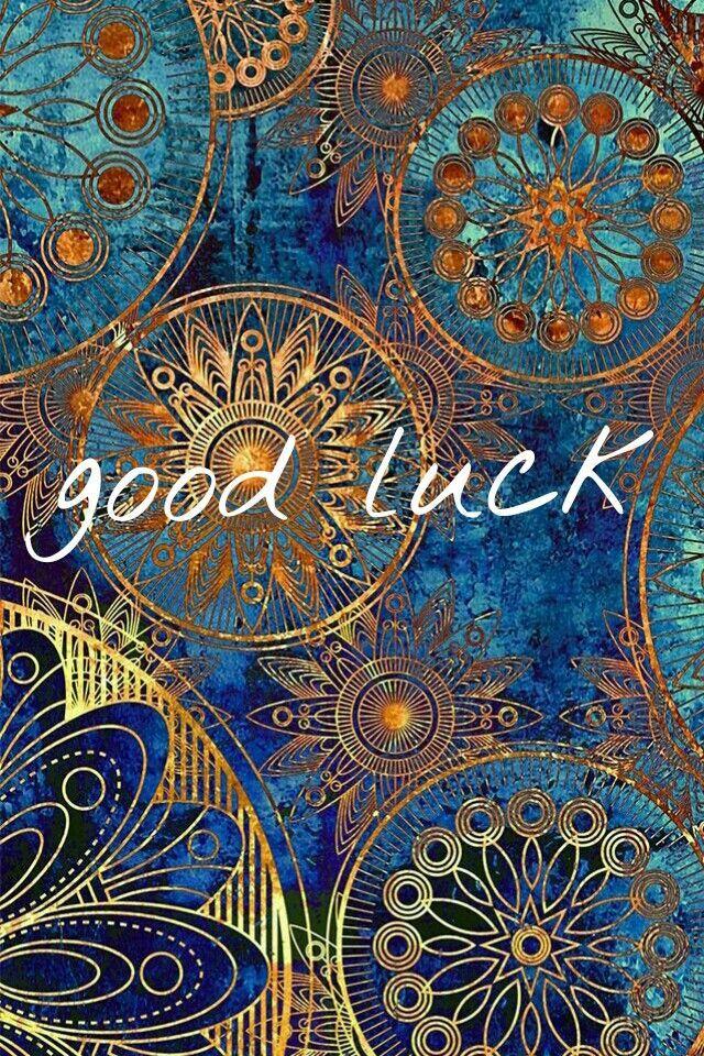 Good Luck Wallpaper Fractal Art Mandala Wallpaper Abstract