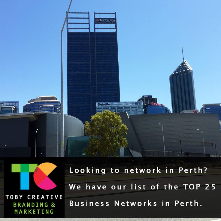 Looking to network in Perth? We have our list of the TOP 25 Business Networks in Perth, WA. https://tobycreative.com.au/perth-business-networking-groups/ Enjoy the benefit from local Perth business networking groups which provide a positive, supportive, and structured networking environment to facilitate the development and exchange of quality business referrals. Build personal and professional relationships with other qualified local Perth WA business professionals in your own area.