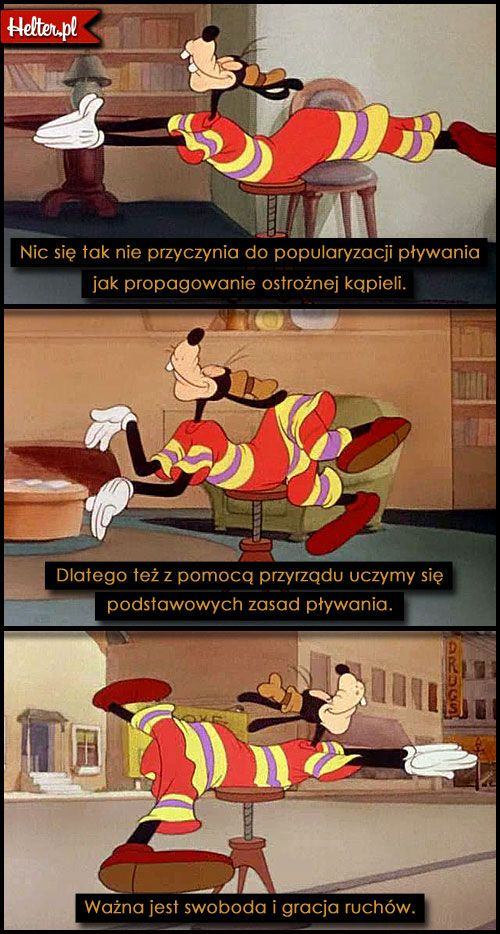 DISNEY Cytaty Filmowe z Bajki Goofy #polskie #cytaty #filmowe #popolsku #helter #filmy #kino #disney #bajki #goofy