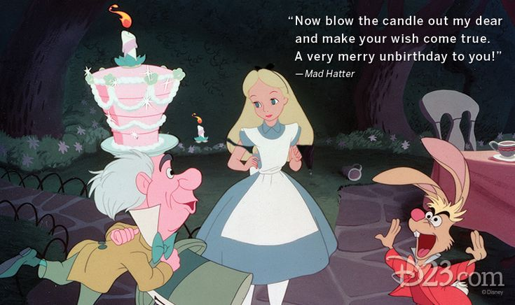 """""""Now blow the candle out my dear and make your wish come"""