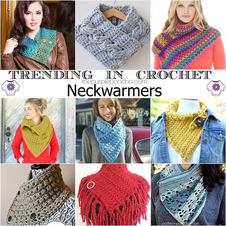 Trending In Crochet – Neckwarmers! – The Purple Poncho