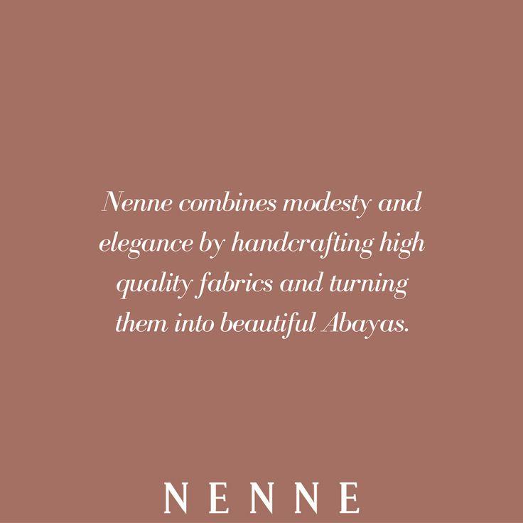 Be modest and elegant at the same time with beautiful NENNE abayas. NENNE is the best place to shop high quality abayas online.Free shipping worldwide.NENNE LONDON. www.nenne.co  #nenne #abaya #dresss #tunic #mididress #maxidress #openabaya #hijab #scarf #shawl #jumpsuit #kimono #islamicsportswear #dailydress #eveningdress #turban #nightdress #modestfashion #hijabfashion #modestclothing #islamicfashion #muslimfashion #luxury #elegant #abayauk #london #dubai #sydney #paris #berlin