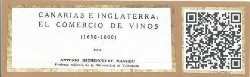 Canarias e Inglaterra: el comercio de vinos (1650-1800) Anuario de estudios atlánticos [0570-4065] de Bethencourt Massieu, Antonio Año:1956 iss:2 pág.:195 -308