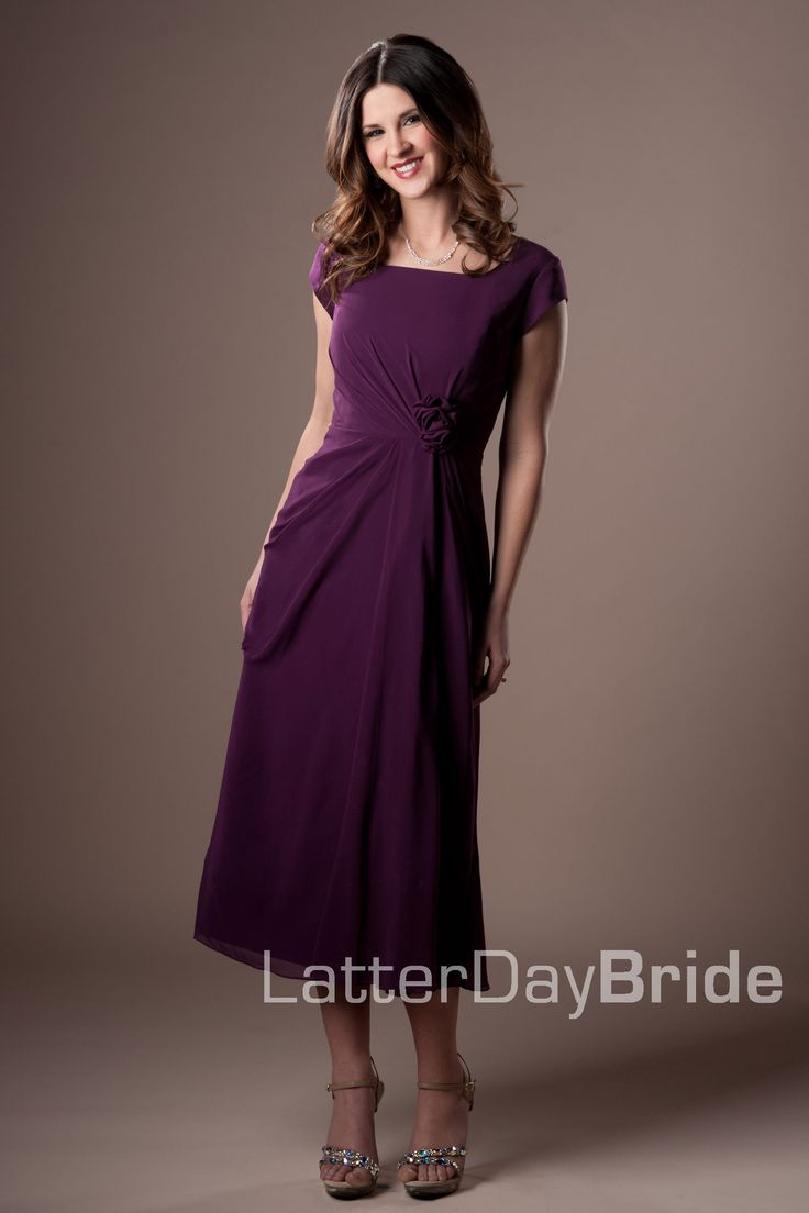 Possible bridesmaid dress, but in a lighter purple?  Bridesmaid & Prom, Rosetta | LatterDayBride & Prom
