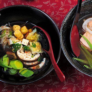 Sumo-Eintopf mit Gemüse