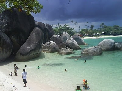 Tanjung Tinggi Beach, Bangka Belitung, Indonesia