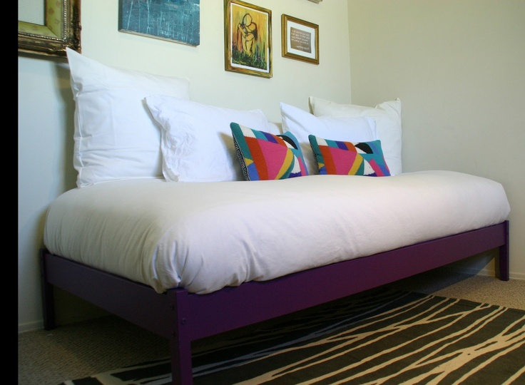 Cram This Purple Daybed Room From Modifying The Fjellse