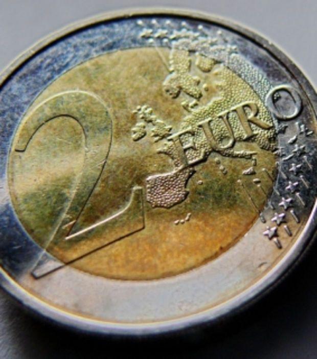 Le 2 euros allemand - Cette édition datée de 2008 comporte une erreur : les 15 pays européens sont montrés... sans frontière. Tirée à seulement 30 000 exemplaires, elle est très recherchée par les collectionneurs