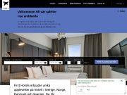 FirstHotels.se rabattkod 25% rabattpå hotell i Skandinavien hela sommaren.Villkor: - Förhandsbetalning – kan ej ändras eller återbetalas - Upp till 2 personer i dubbelrum, ett barn sover g...
