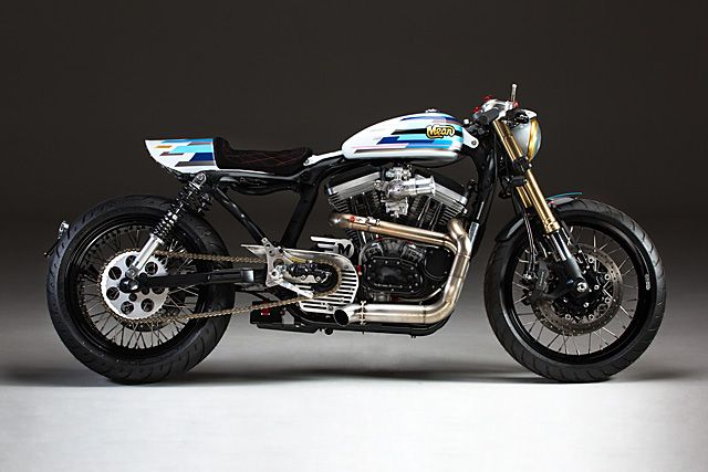 MOTOGUXXI: Harley-Davidson Sportser by Mean Machines