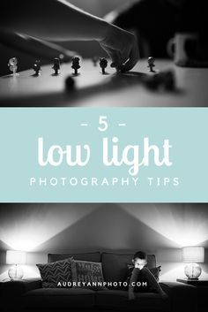 Working with low light can be tricky - here's five tips for Low Light Photography that will help improve your indoor and after dark images!