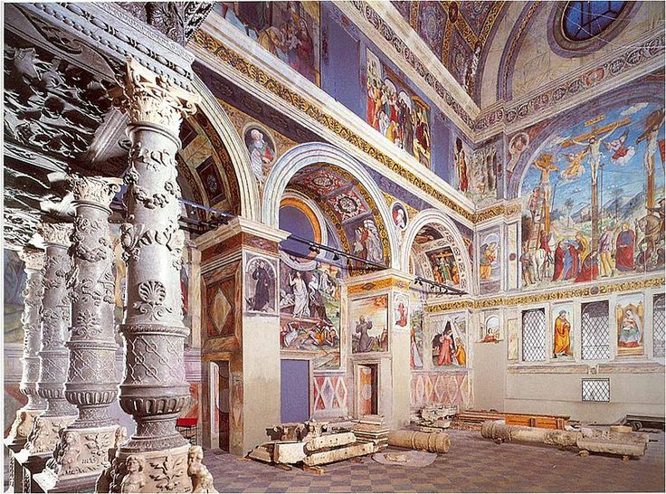 Coro delle Monache, museo di Santa Giulia