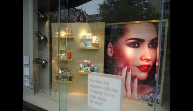 Marks and Spencer unveils new beauty department
