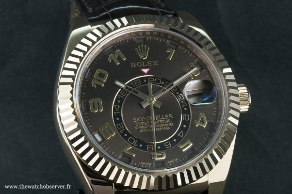 Rolex Sky-Dweller : la première montre Rolex à double fuseau horaire - Photos de montres 4 sur 13   The Watch Observer