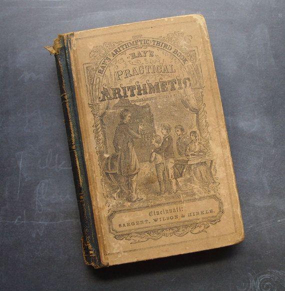 1857 Ray praktischen Arithmetik Antique von TinselandTrinkets