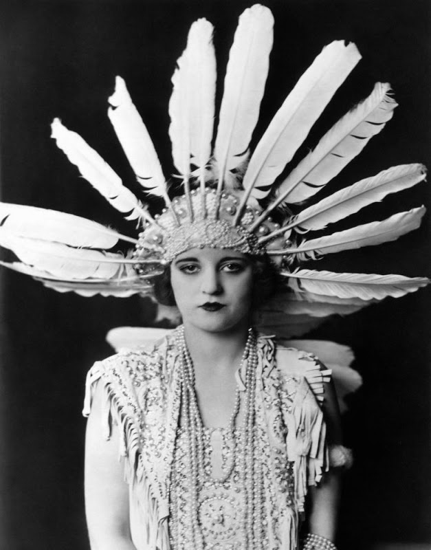 Tallulah Bankhead./// i dont know who this person is but she has a cool name and an awesome hat:)